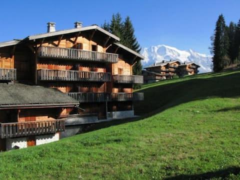 Chalet face au Mont Blanc - Le Bettex/St-Gervais