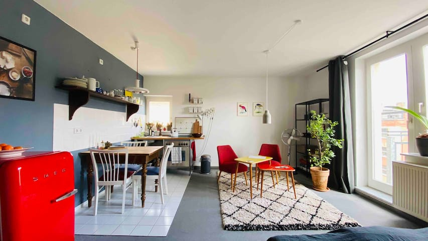 Helles, ruhiges Appartement mit charmantem Blick