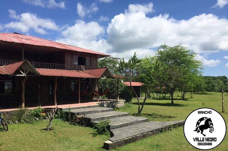 Ecolodge Valle Negro-Habitación en casa grande
