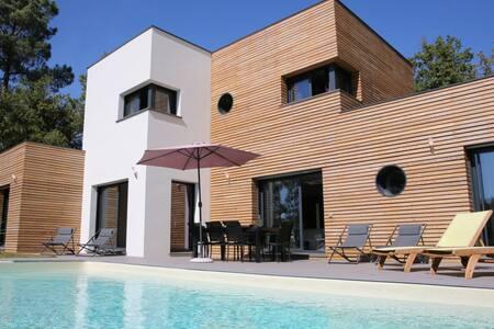 VILLA moderne contemporaine piscine - Gourdon