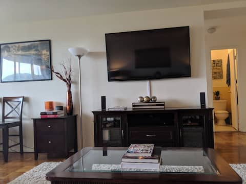 Spacious 2 bedrooms/2 baths apartment near NYC!