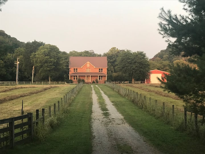 The Real McPherson Farm Farmhouse