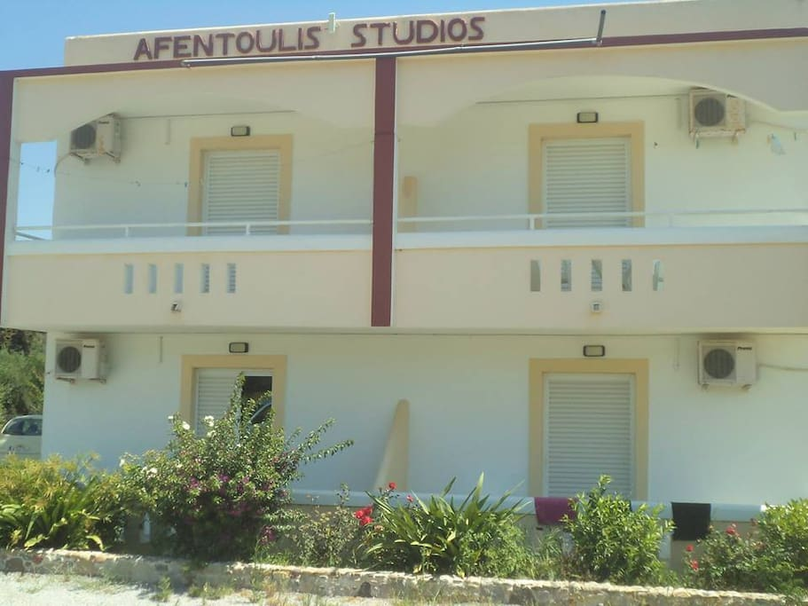 Outside view of the studios.