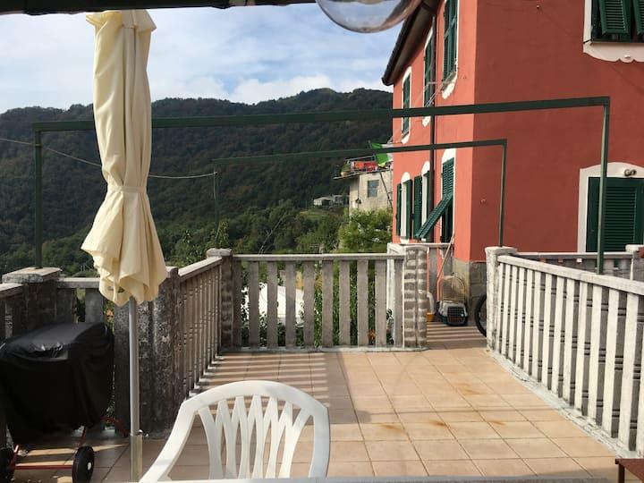 La Casa di Zoe Uscio (GE), Recco Camogli Portofino