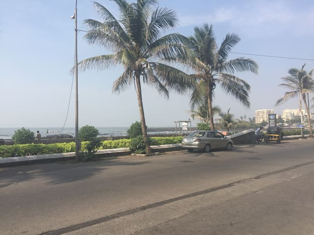 Seafront haven in Bandra