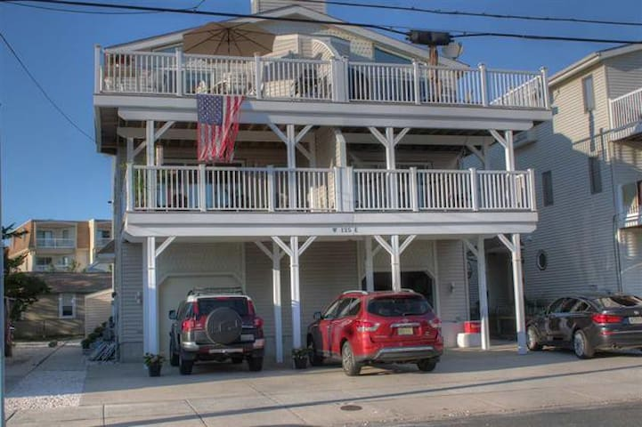 5BR/3B Sea Isle Townsend Inlet - Walk to Beach! - Sea Isle City - Apartament