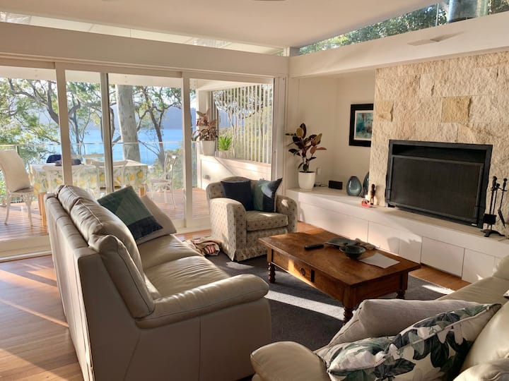 Avalon Beach Home with a View