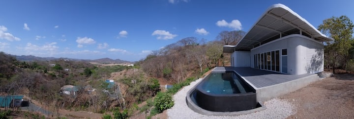 Maison d'Architecte avec vue panoramique-Tamarindo