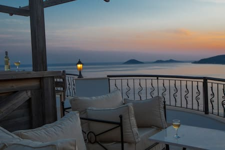2 Bed Apartment with Seaviews slps5 - Kalkan - Apartment