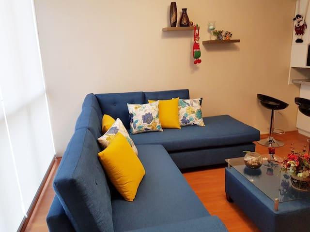 Sala comoda y practica