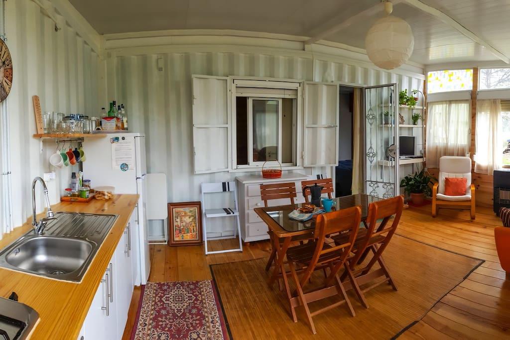 Hall-Living room-Saloon view 2