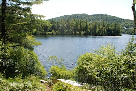A Lakefront Gem on Adirondack Lake - Vermontville - Hus