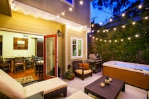 Great entertaining & BBQing in your private courtyard.