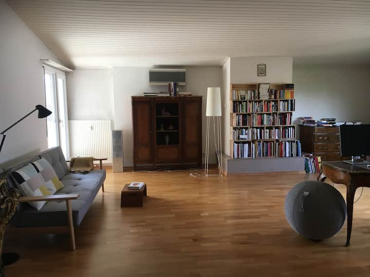 cosy room in Arlesheim, close to Basel and Dornach