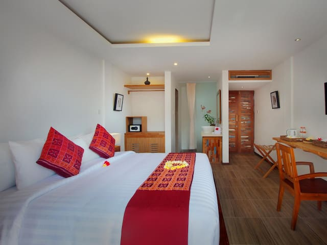 Ubud Cozy Room with Peaceful View - Tampaksiring
