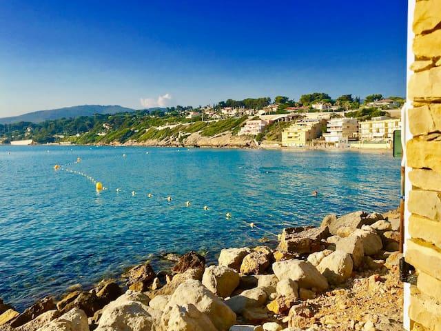 Maisonnette les pieds dans l'eau - Sanary-sur-Mer - Hus