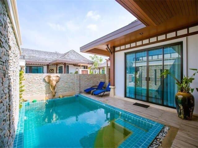 Cozy family retreat is located near Rawai beach
