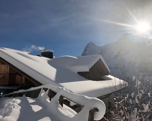 Chalet Monch, Murren, Jungfrau