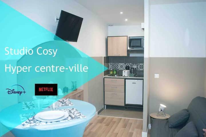 Studio#hyper centre-ville#cosy#moderne#2 personnes