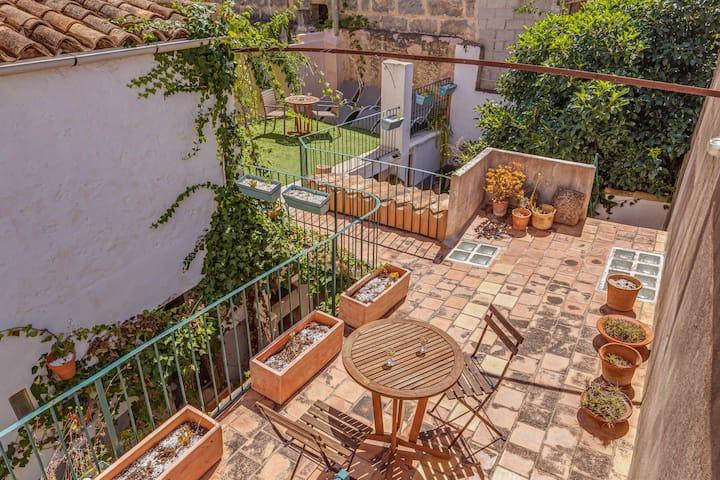 Charming Holiday Home Sa Posada with Wi-Fi, Balcony & Terrace; Parking Available; Pets Allowed