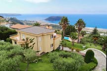 Mediterrenean Villa with a 360 degree view