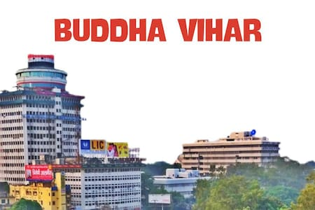 BUDDHA VIHAR IN A SECURED COMMUNITY