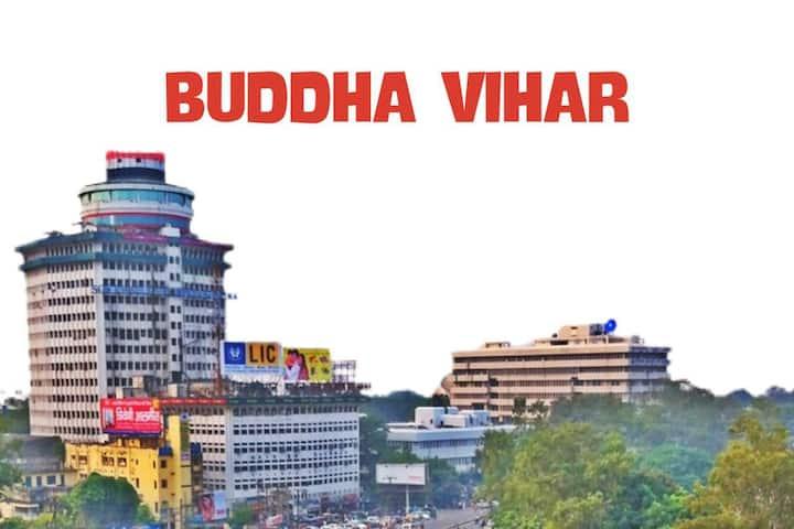 BUDDHA VIHAR IN A SECURED COMMUNITY