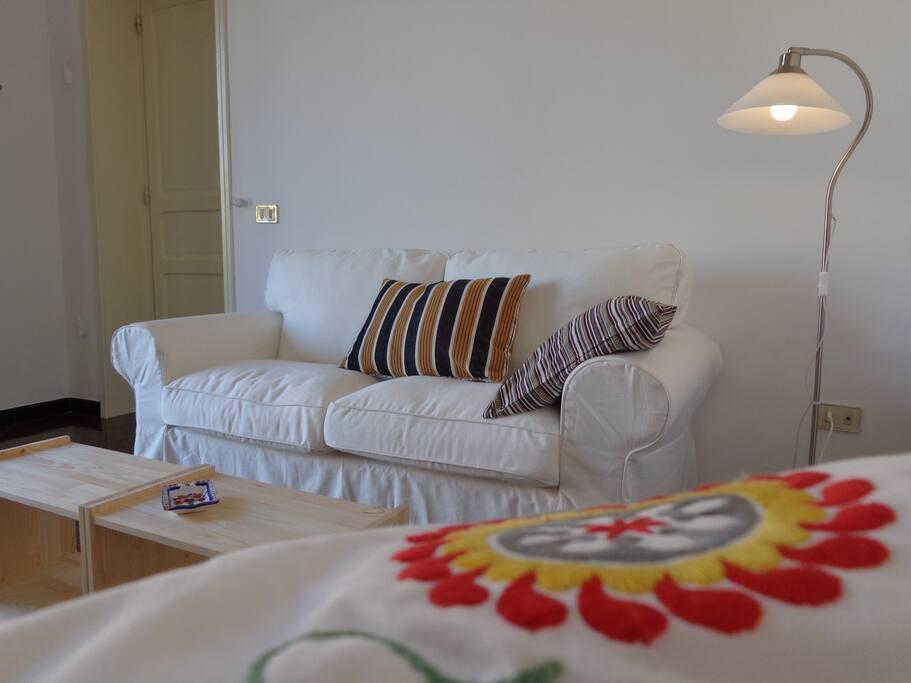 Dettaglio soggiorno Living room
