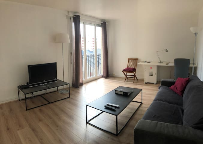 Grand appartement F2 52m2