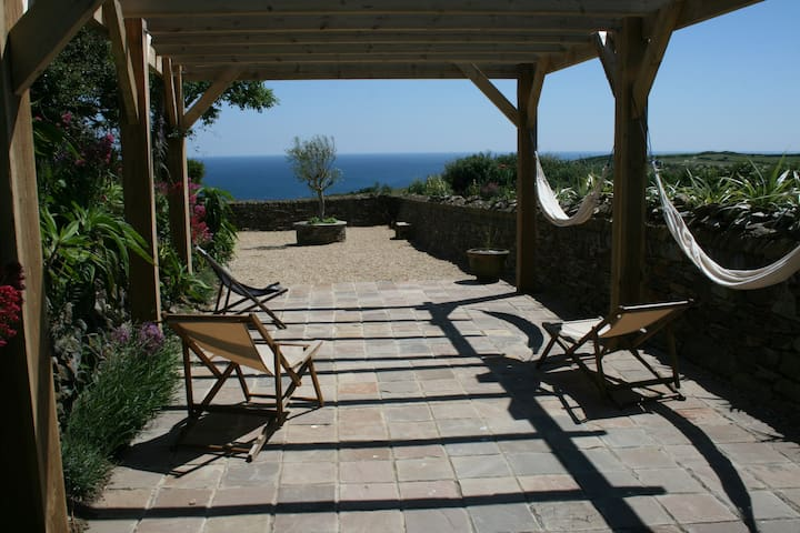 A beautiful coastal house  - The Roseland Peninsular - Casa
