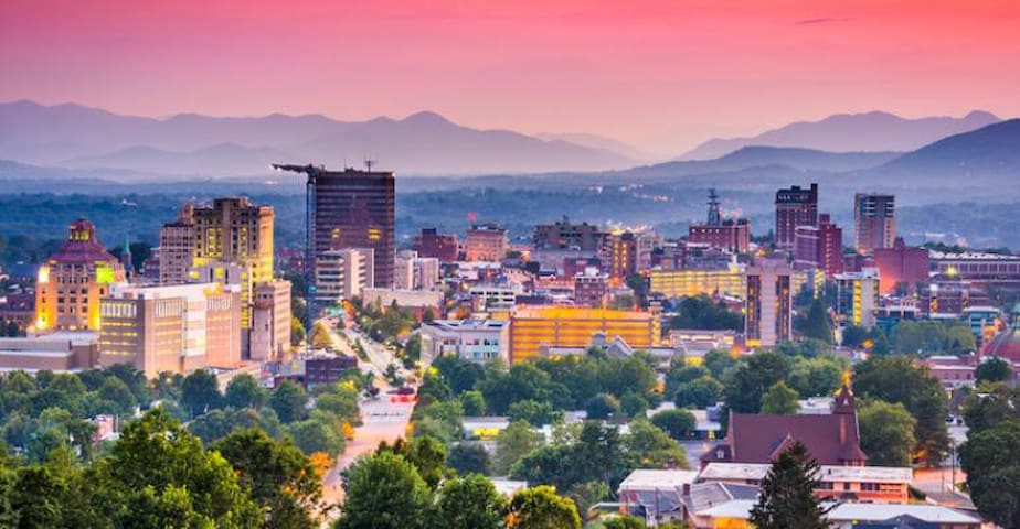 A quick day trip to downtown Asheville is just 25 minutes.