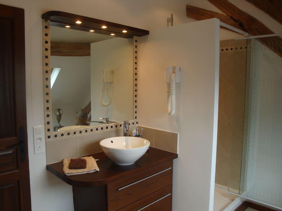Salle de Douche - shower room