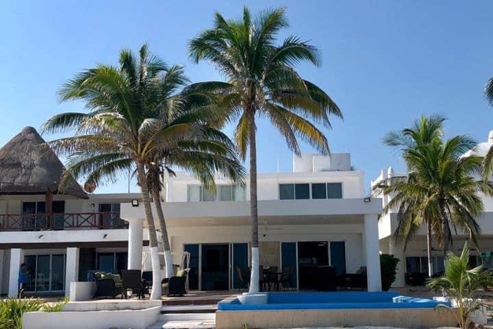 Casa playa, 4 habitaciones , 8 huéspedes