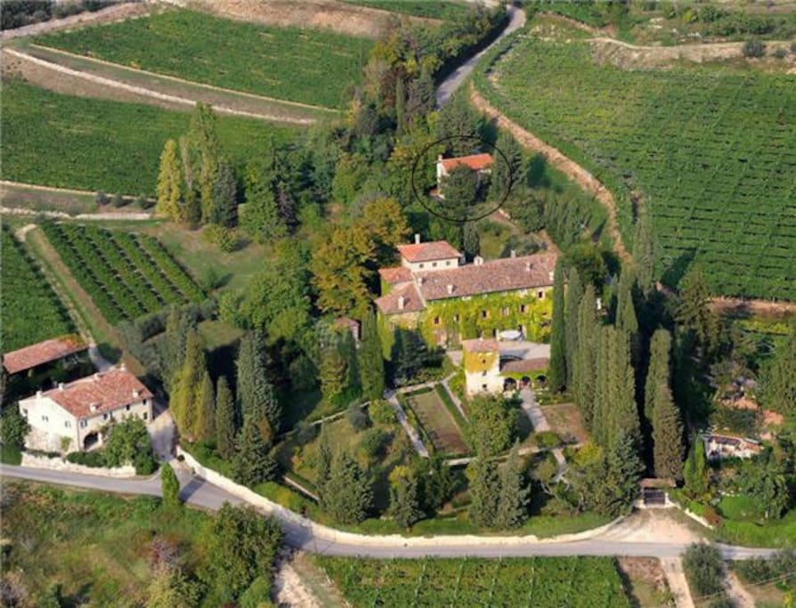 the property of San Ciriaco with the dependance (resort)