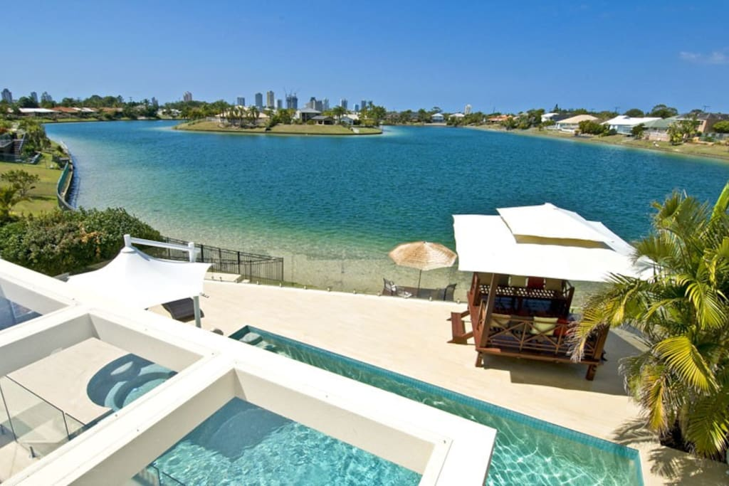 luxury beach home gold coast more like a resort houses for rent in broadbeach queensland