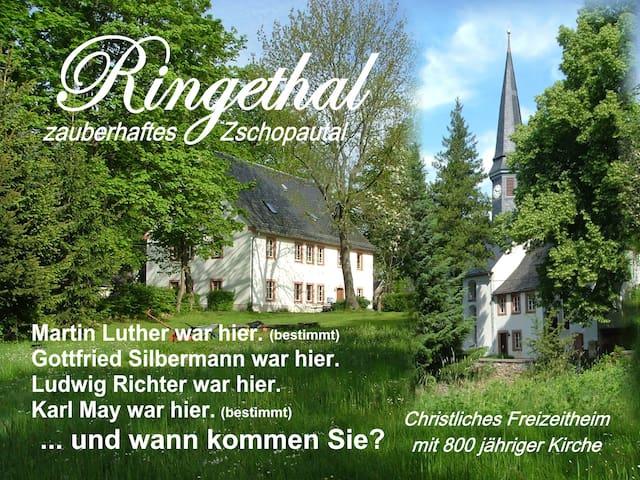 Urlaub im Pfarrhaus - Ringetahl - Casa