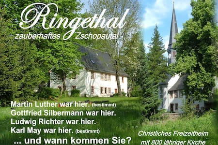 Urlaub im Pfarrhaus - Ringetahl - Talo