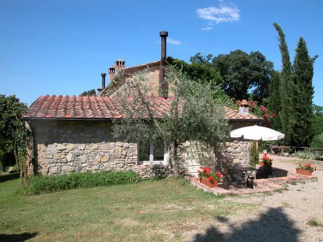 Romantico bilo con terrazzo privato - Talciona,Poggibonsi - House