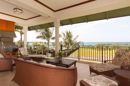 Kolea 4F Ocean View Penthouse - Waikoloa - 別荘
