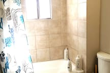 Hall bathroom, full bath