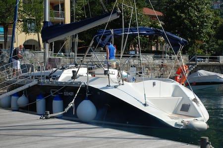 Boat&Breakfast  Lago Maggiore  - Cannero Riviera - 船