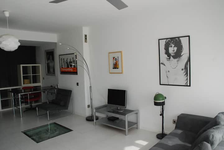 Design Loft 800 m from the beach