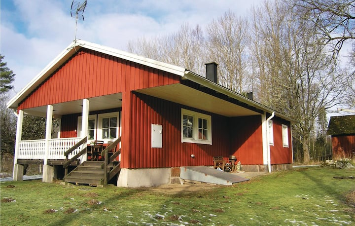 Beautiful home in Agunnaryd with 3 Bedrooms and WiFi