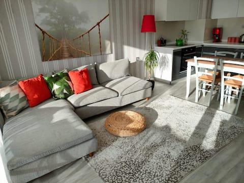 Konforlu Modern ve Sıcacık Bir Rezidans