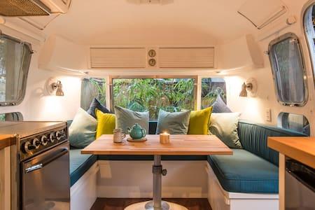 Airstream Island Retreat: Unique, Bright & Central