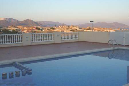 3 Bed House Sea views Nr Beach Pool AirCon WiFi...
