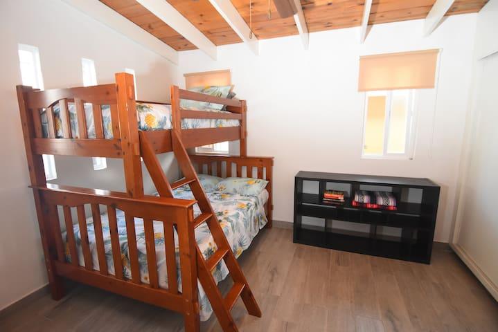 Second Bedroom w/ bunk bed & sofa bed