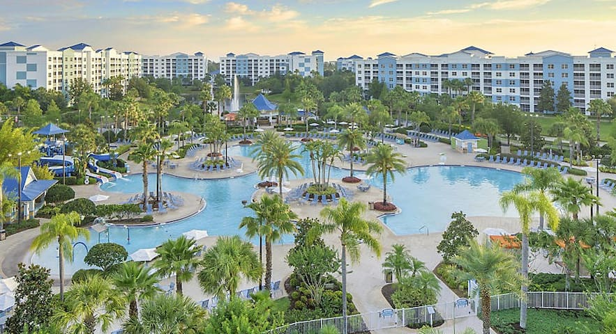 2 BR in a fab resort -close to Disney/Universal