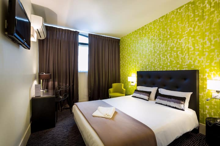 Confort double Hôtel de charme au cœur de Toulouse