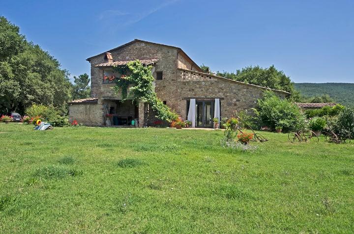 la Casa between Siena and Grosseto